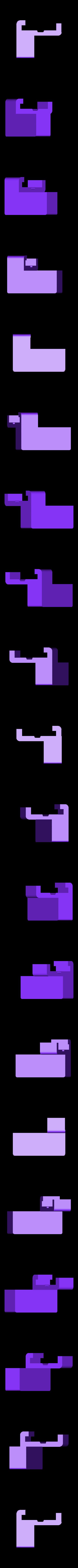 Left_Block.stl Télécharger fichier STL gratuit Bloc de lampe à pince pour Prusa i3 Mk2 • Modèle pour imprimante 3D, alexwhittemore