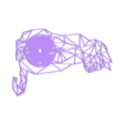 reloj_gato_geometric.stl Download STL file Clock geometric cat • 3D printing design, 3dlito