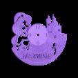 jasminereloj222222.stl Télécharger fichier STL gratuit Reloj Jasmin (VERSIONS X3) • Modèle à imprimer en 3D, 3dlito