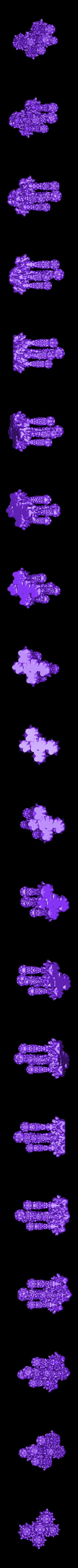 AlienPlant3Clump.stl Download free STL file Alien Flora series 3 (any scale) • 3D print model, Dutchmogul