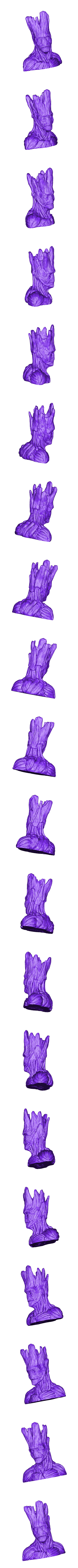 Polysculpt.com_Gout_SLA.stl Download free STL file Grout, Groot's borther • 3D printing template, Polysculpt