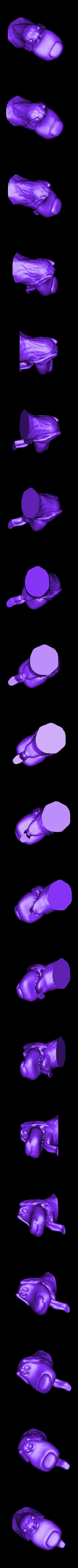 file_bec6b8b3ee78a747782708c8998cf547_5081.stl Download free STL file Dog from Up movie Pixar • 3D printable model, HeribertoDeli3D