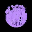 reloj_beatles.stl Download free STL file Reloj The Beatles • 3D print design, 3dlito