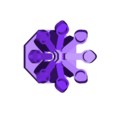 inner petal group.stl Download free STL file Water Lily - LEGO style • Template to 3D print, paulsroom