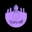 DragonBallSuper_Reloj.stl Download STL file Clock vinyl collection • 3D printer design, razoner