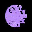 StarWars_Reloj.stl Download STL file Clock vinyl collection • 3D printer design, razoner