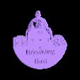 Breaking_Bad_Reloj.stl Download STL file Clock vinyl collection • 3D printer design, razoner