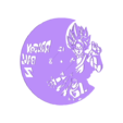 DragonBall_Reloj.stl Download STL file Clock vinyl collection • 3D printer design, razoner