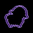 lamb.stl Download STL file Fancy Animals cookie cutter set • 3D printable model, davidruizo
