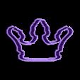 crown 5.stl Download STL file Crown cookie cutter set • 3D printer design, davidruizo
