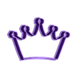 crown 2.stl Download STL file Crown cookie cutter set • 3D printer design, davidruizo