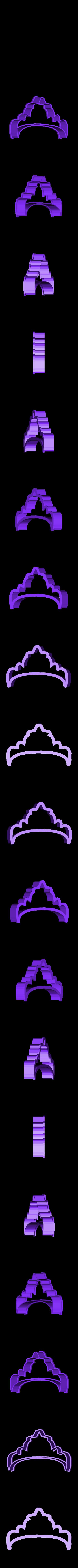 crown 4.stl Download STL file Crown cookie cutter set • 3D printer design, davidruizo