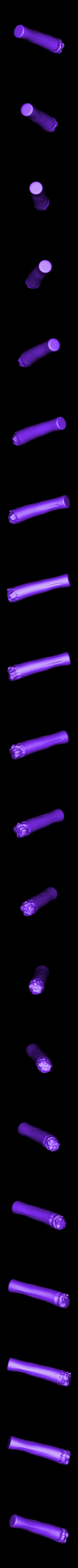 Cigar.stl Download STL file Zombie Hunter Bust  • Template to 3D print, Bstar3Dart