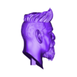 Head.stl Download STL file Zombie Hunter Bust  • Template to 3D print, Bstar3Dart