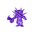Goblin_with_swords.stl Télécharger fichier STL gratuit chef gobelin • Design imprimable en 3D, duncanshadow
