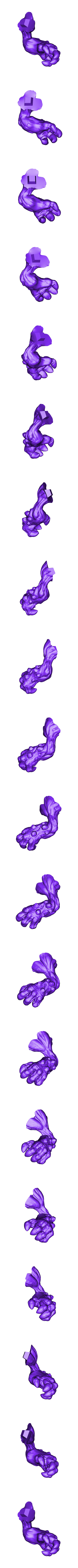 Mushroom_arm_left.stl Download free STL file Mushroom man • 3D printer design, duncanshadow