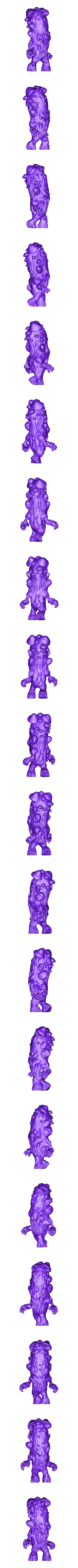 Merged_Mushroom_full.stl Download free STL file Mushroom man • 3D printer design, duncanshadow