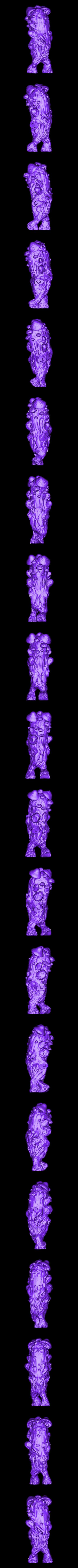 Mushroom_body.stl Download free STL file Mushroom man • 3D printer design, duncanshadow