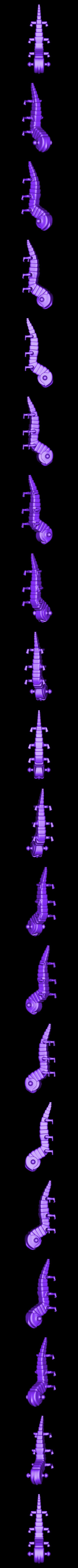 verme_escher.STL Download free STL file Escher Worm • 3D print object, sergioinglese