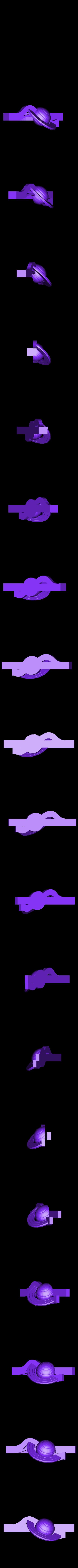 saturno.STL Download free STL file Saturn Tie Clip • 3D printable model, sergioinglese
