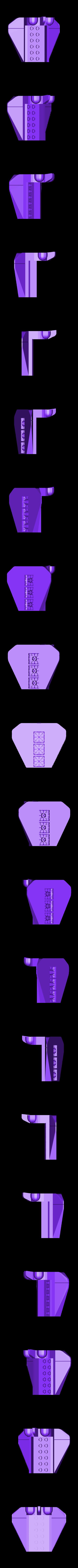 cockpit_back.STL Télécharger fichier STL gratuit navette spatiale en brique • Design pour imprimante 3D, sergioinglese