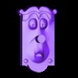 serratura_01.STL Télécharger fichier STL gratuit la poignée de porte - alice au pays des merveilles • Modèle pour impression 3D, sergioinglese
