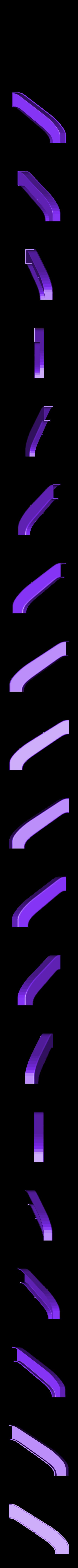 PORTA_05.STL Télécharger fichier STL gratuit la poignée de porte - alice au pays des merveilles • Modèle pour impression 3D, sergioinglese