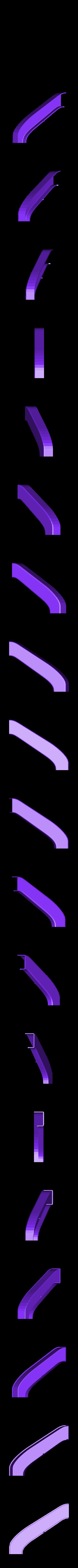 PORTA_06.STL Télécharger fichier STL gratuit la poignée de porte - alice au pays des merveilles • Modèle pour impression 3D, sergioinglese
