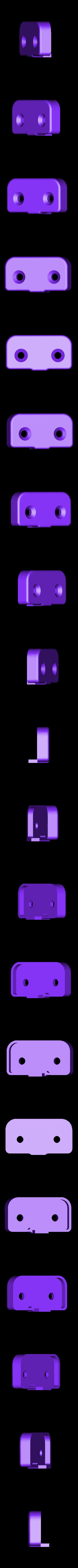 FSR_001_CAP_02_flat.STL Télécharger fichier STL gratuit Capteur à filament pour Luzlbot TAZ 6 (2.85mm design) • Modèle pour impression 3D, sneaks