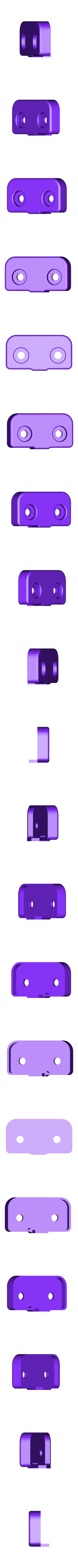 FSR_001_CAP_03_pan.STL Télécharger fichier STL gratuit Capteur à filament pour Luzlbot TAZ 6 (2.85mm design) • Modèle pour impression 3D, sneaks