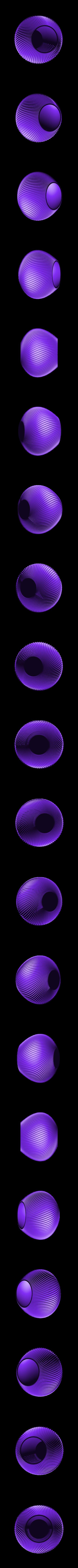 """vase-coquillage-1.stl Download STL file Vase series """"MER"""" 3dgregor • Object to 3D print, 3dgregor"""