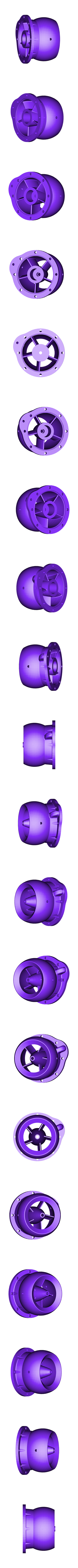 diffusor with integrated cooling new nozzle.STL Download free STL file upgrade parts for Water Jet propulsion unit • 3D printer design, toto44