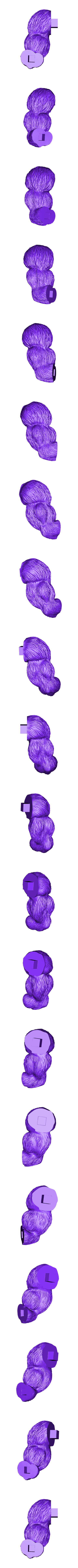 ArmL.stl Download STL file Oozaru Baby - Dragon ball - 3D print model  • Object to 3D print, Bstar3Dart
