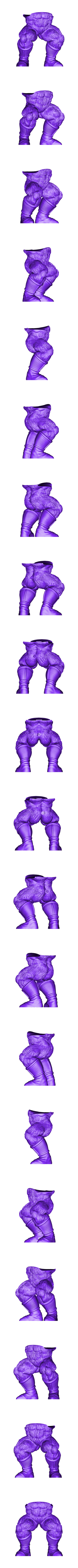 Legs.stl Download STL file Oozaru Baby - Dragon ball - 3D print model  • Object to 3D print, Bstar3Dart