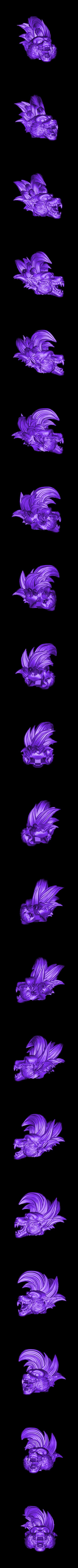 Head.stl Download STL file Oozaru Baby - Dragon ball - 3D print model  • Object to 3D print, Bstar3Dart