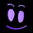 Ghost in a Jar Face_02.stl Télécharger fichier STL gratuit Fantôme dans une jarre - Rick et Morty • Objet imprimable en 3D, JayOmega
