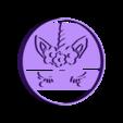 unicornio ojitos.stl Download STL file Unicorn and flower cookie cutter • 3D printer model, Geralp