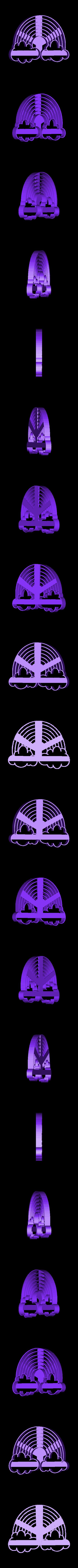 arcoiris con nubes.stl Télécharger fichier STL gratuit coupe-biscuit arc-en-ciel pour nuage de nuages de nuages • Plan imprimable en 3D, Geralp