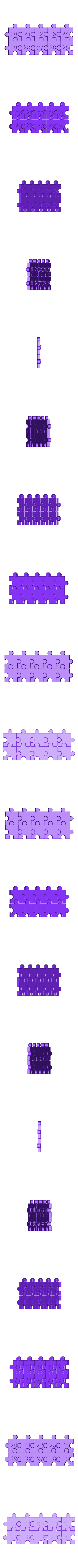 Number_20-29.stl Download free STL file Jigsaw Number Pieces, Puzzle, Sequences, Math Patterns • 3D printable design, LGBU