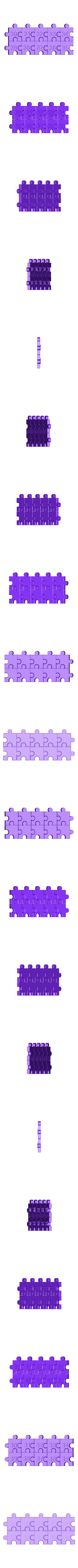 Number_30-39.stl Download free STL file Jigsaw Number Pieces, Puzzle, Sequences, Math Patterns • 3D printable design, LGBU