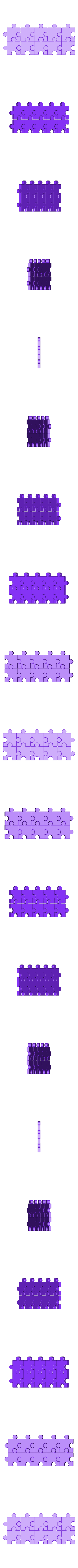 Blanks.stl Download free STL file Jigsaw Number Pieces, Puzzle, Sequences, Math Patterns • 3D printable design, LGBU