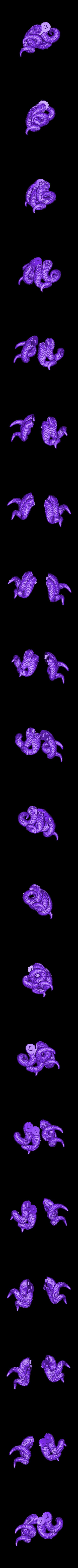 Female_horns_horns.stl Download free STL file Horned female • 3D printable object, duncanshadow