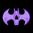 BW_Top_Wings_FC.stl Télécharger fichier STL gratuit Avion à chauve-souris RC Quadcopter • Plan à imprimer en 3D, shawnrchq
