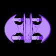 BW_Bottom_Wings.stl Télécharger fichier STL gratuit Avion à chauve-souris RC Quadcopter • Plan à imprimer en 3D, shawnrchq