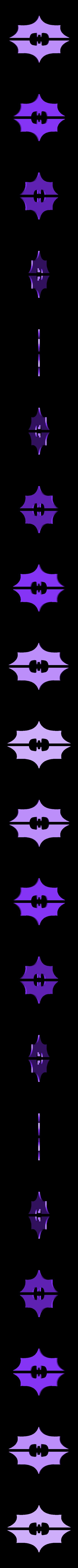 Shox_SNova_Bat_Feet.stl Download free STL file Shox Bat Beat Box • 3D print template, shawnrchq