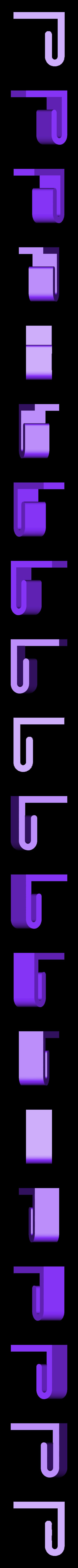 WheelieBin_Liner_Clip_Rear.stl Télécharger fichier STL gratuit Clips de doublure Wheelie-Bin Liner Clips • Design pour impression 3D, shawnrchq