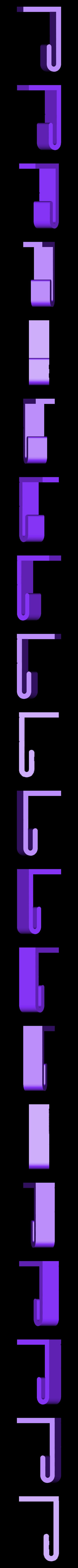 WheelieBin_Liner_Clip_Front.stl Télécharger fichier STL gratuit Clips de doublure Wheelie-Bin Liner Clips • Design pour impression 3D, shawnrchq