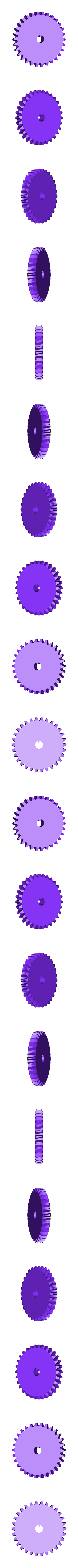x_Worm_gear.stl Download free STL file Industrial Worm Gearbox / Gear Reducer (Cutaway version) • 3D print design, LarsRb