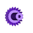 1x_Bevel_Gear_2.stl Télécharger fichier STL gratuit Réducteur industriel à couple conique / Réducteur à engrenages (version en coupe) • Objet pour imprimante 3D, LarsRb