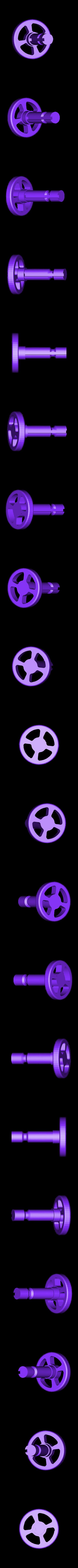 1x_Handle.stl Télécharger fichier STL gratuit Réducteur industriel à couple conique / Réducteur à engrenages (version en coupe) • Objet pour imprimante 3D, LarsRb